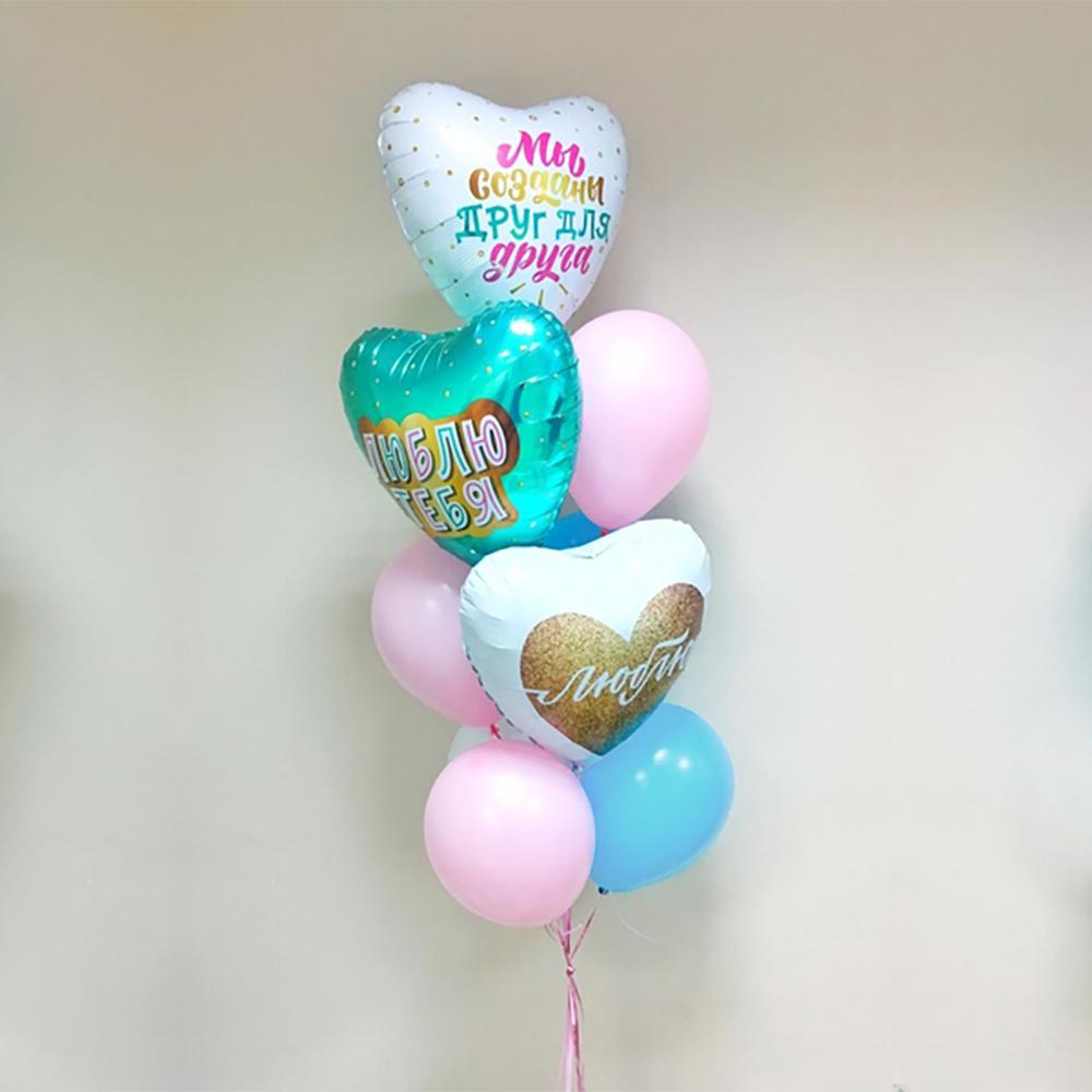 Нежно люблю Фонтан из шаров