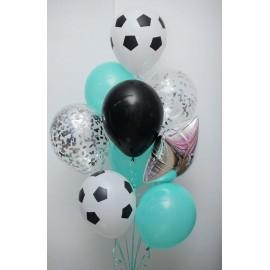 Футбол Фонтан из шаров