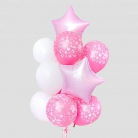 Новорожденной Фонтан из шаров