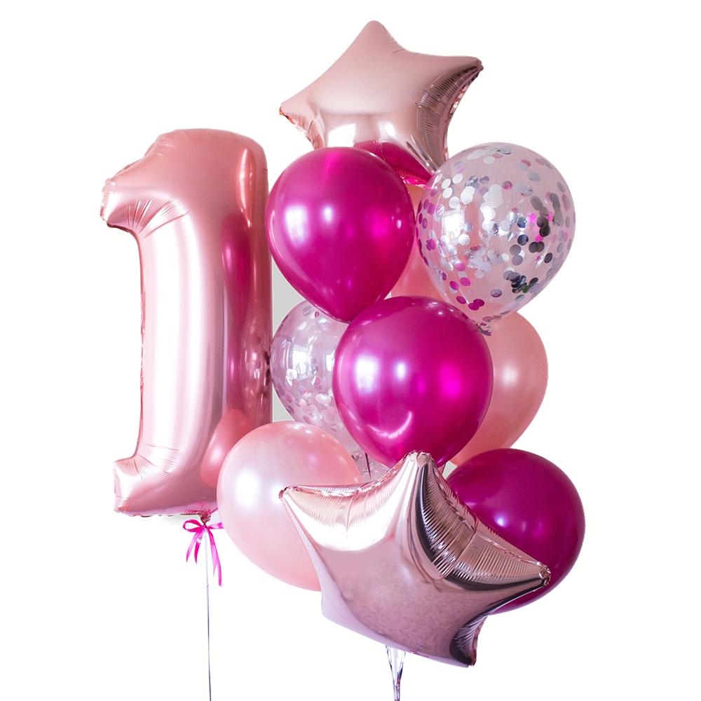 Мечта принцессы Фонтан из шаров