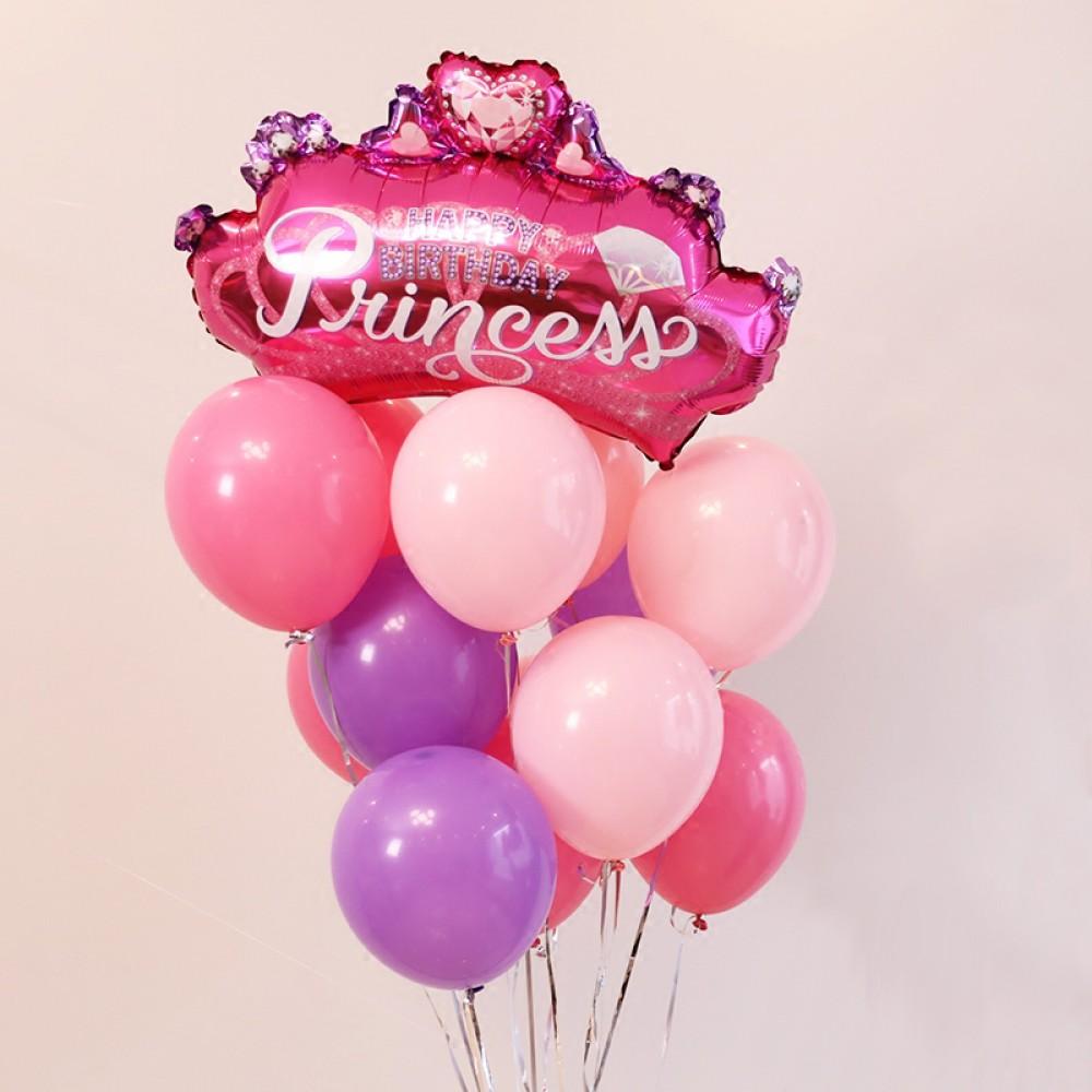 Принцессе №2 Фонтан из шаров