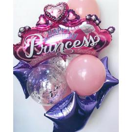 Принцессе №3 Фонтан из шаров