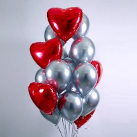 Сердце и сталь Фонтан из шаров