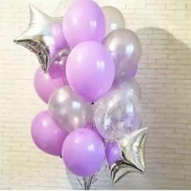 Счастье Фонтан из шаров