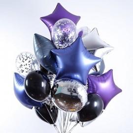 Звездная вечеринка Фонтан из шаров