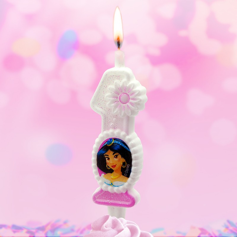 Свеча Принцессы Диснея Цифра 1