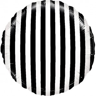 Круг черные полосы 46см