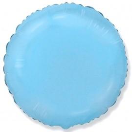 Шар Круг Светло-голубой 46 см