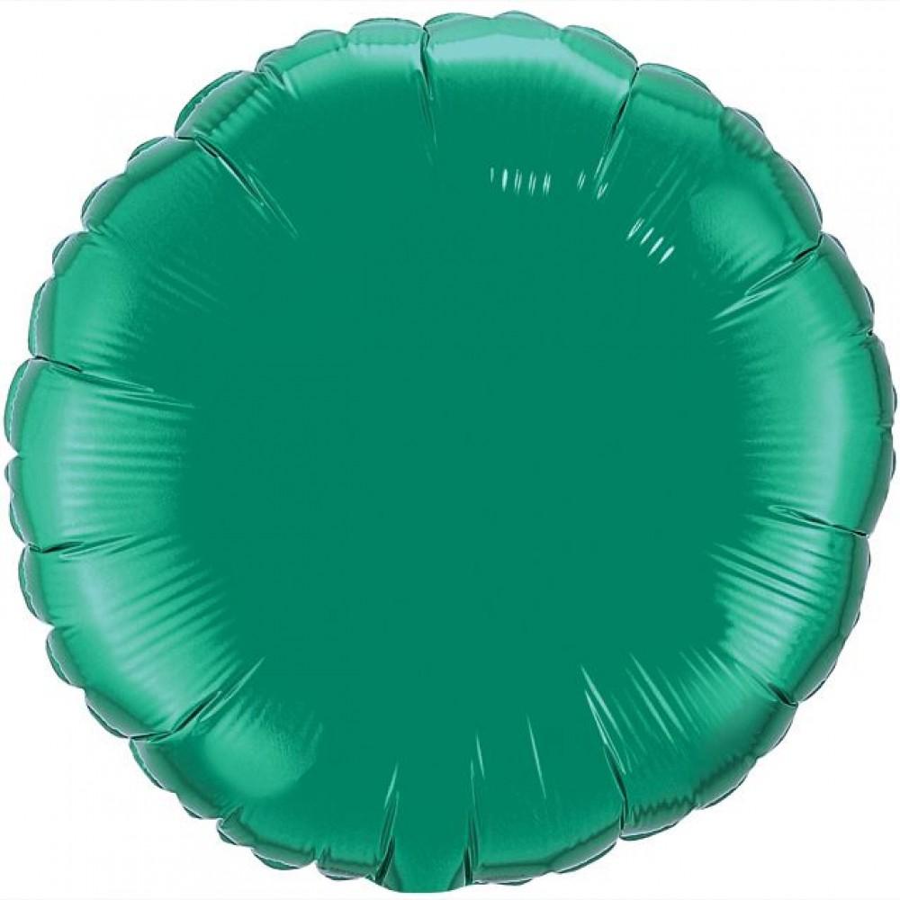 Шар Круг Зеленый 46 см