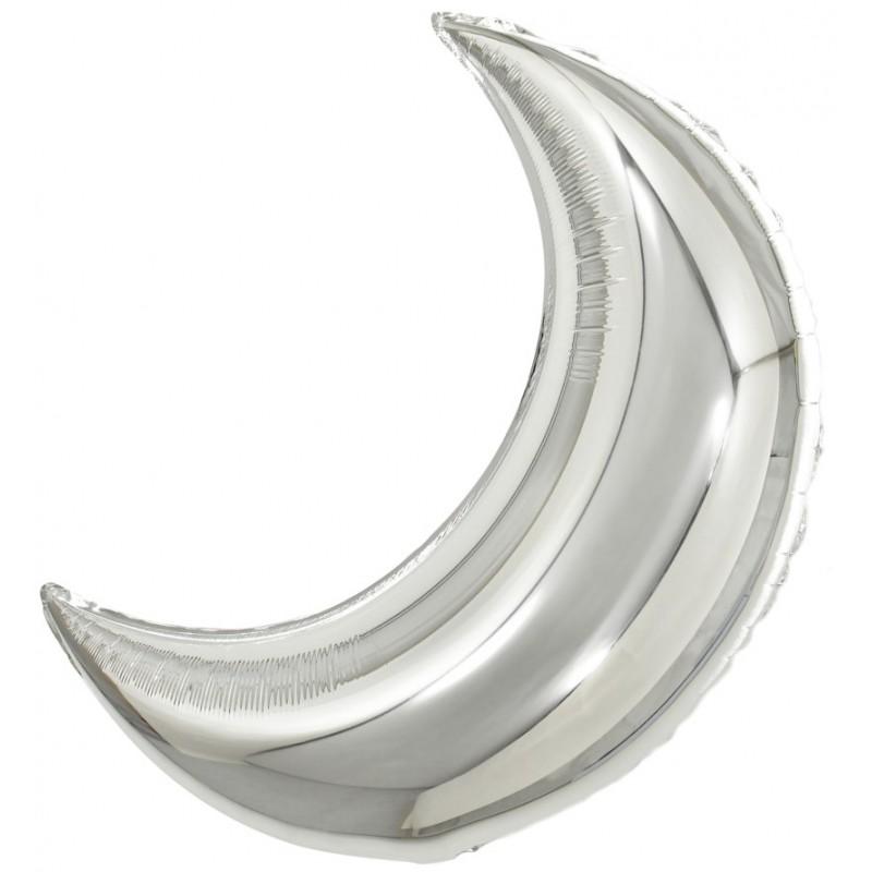 Полумесяц Серебро 71 см
