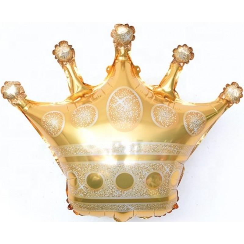Фольгированная фигура шар с гелием корона