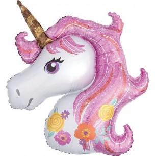 Шар Цветочный Единорог