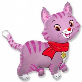 Шар Милый котенок (розовый)