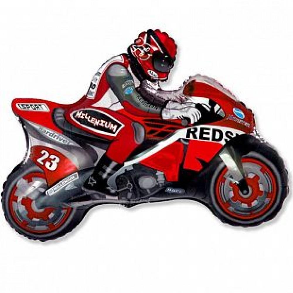 Шар Мотоцикл (красный)