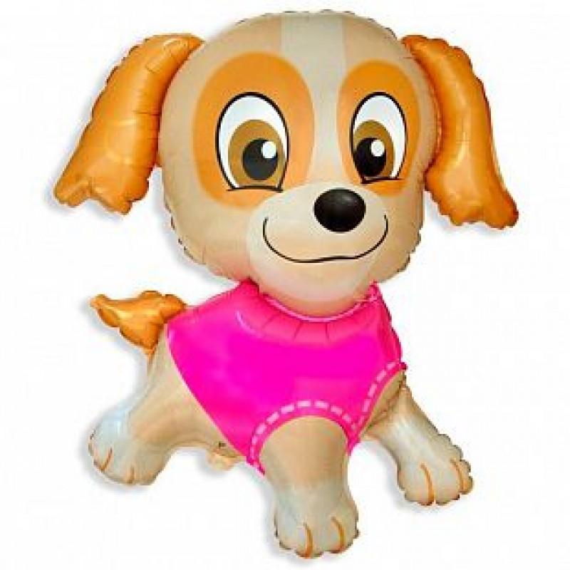 Шар Девочка-щенок