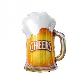 Шар Фигура Пиво в кружке 74см