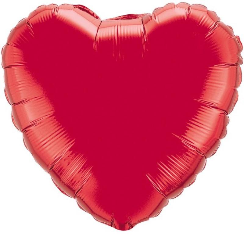 Сердце Красный 46 см