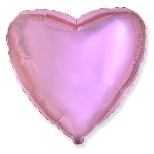 Сердце Розовый нежный 46 см