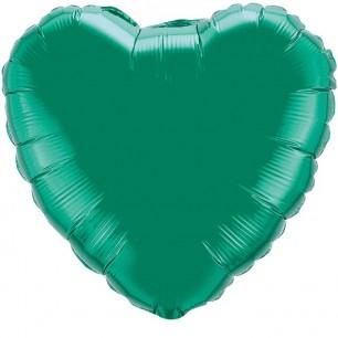 Сердце Зеленый 46 см