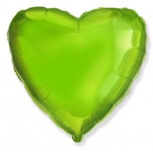 Сердце Лайм 46 см