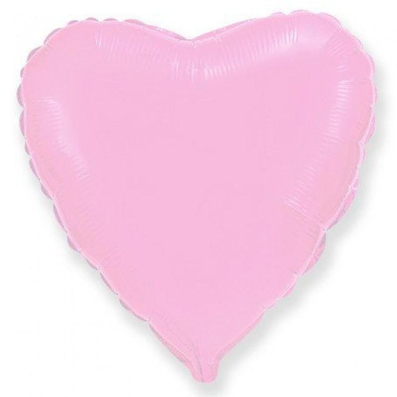 Сердце Розовый 46 см