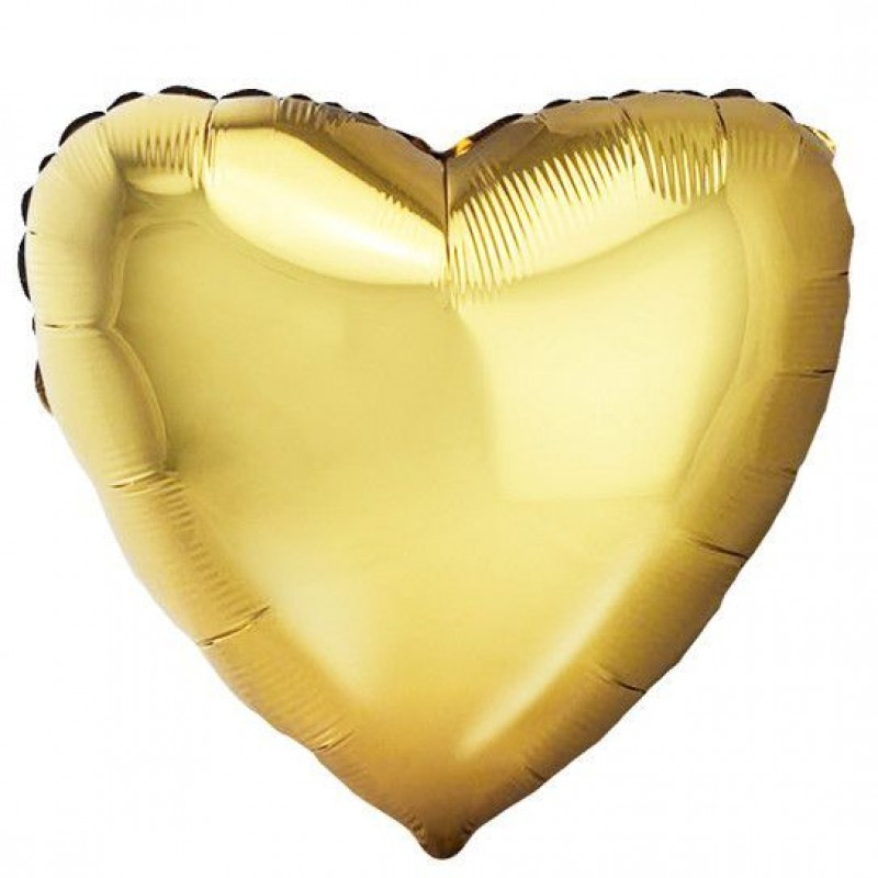 Сердце Античное Золото 46 см
