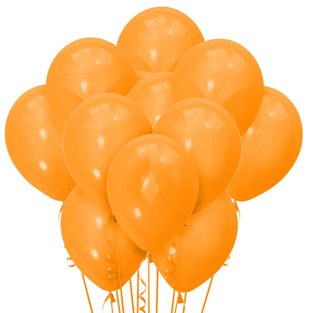 Облако из 15 шаров Декоратор Orange 30 см (114)