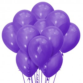 Облако из 15 шаров Декоратор Purple 30 см (149)
