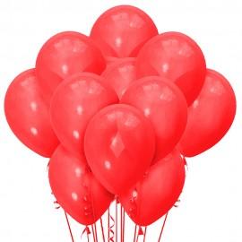 Облако из 15 шаров Матовый Красный 30 см (124)