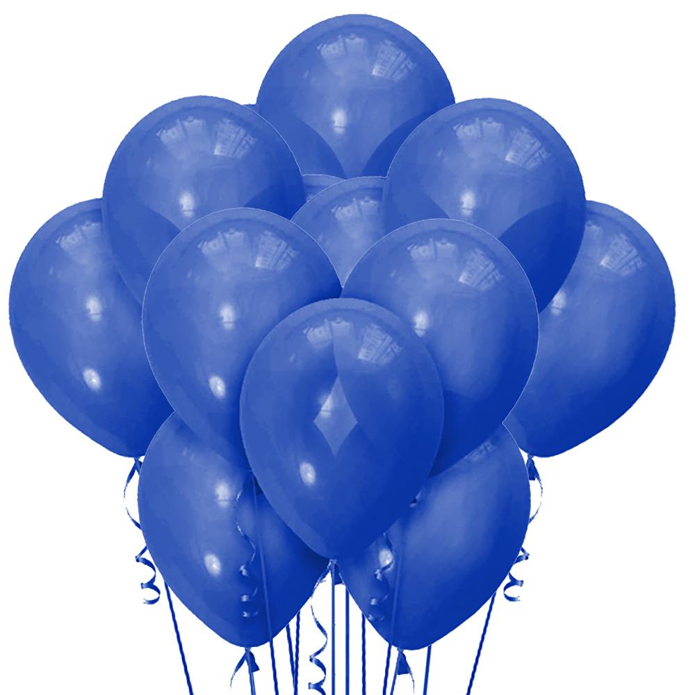 Облако из 15 шаров Матовый Пастель Blue 30см (140)