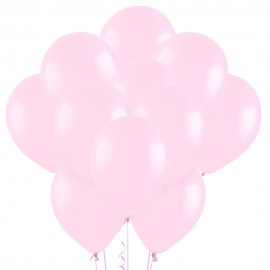 Облако из 15 шаров Матовый Светло-розовый 30 см (119)