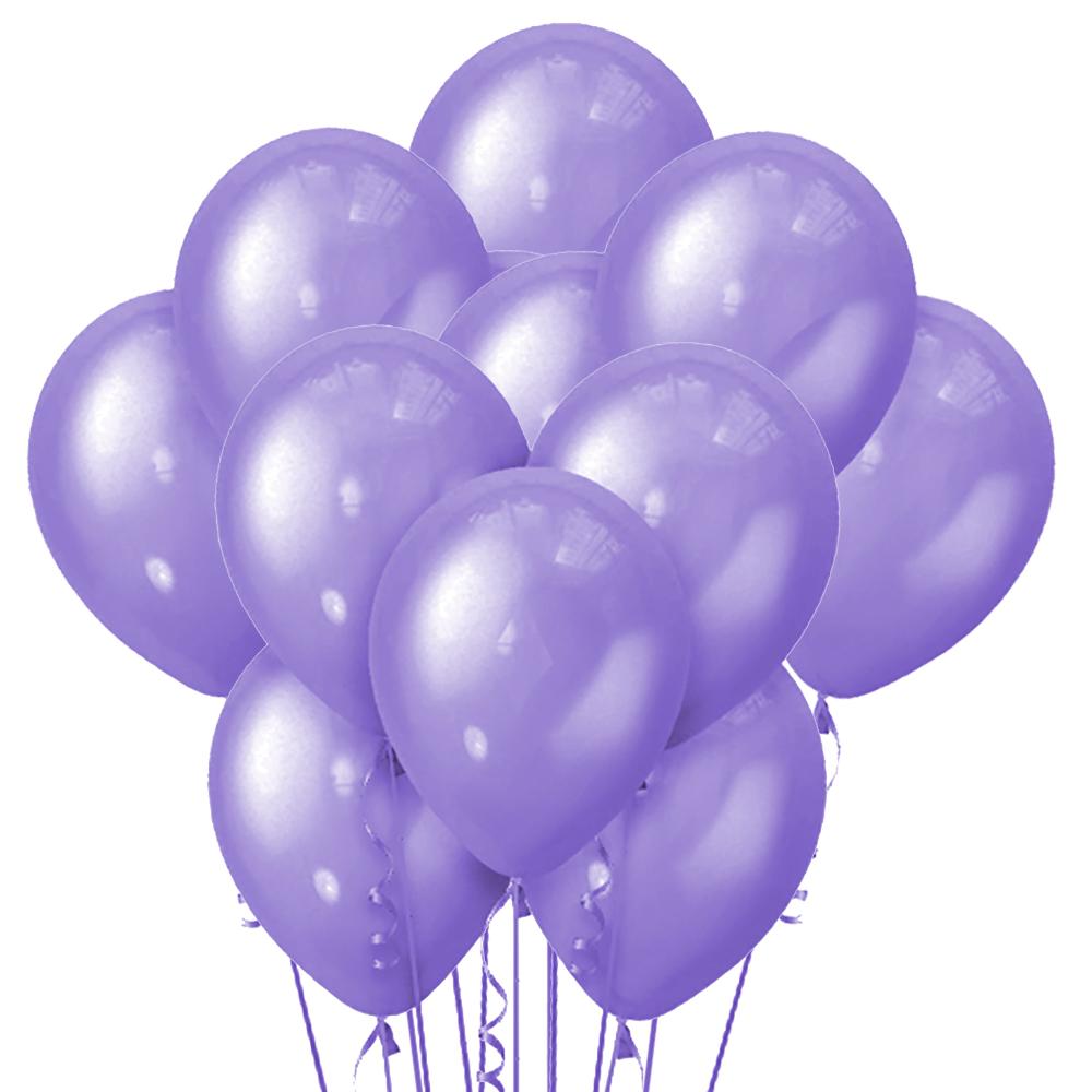 Облако из 15 шаров Металлик Violet 30 см (147)