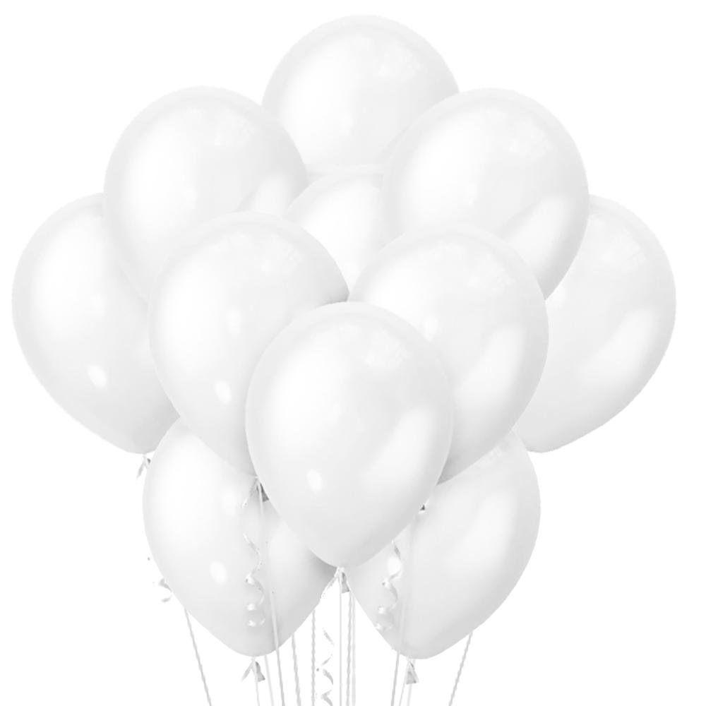 Облако из 15 шаров Перламутр White 30см (107)