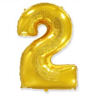 Цифра 2 Золото