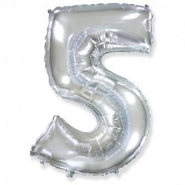 Цифра 5 Серебро