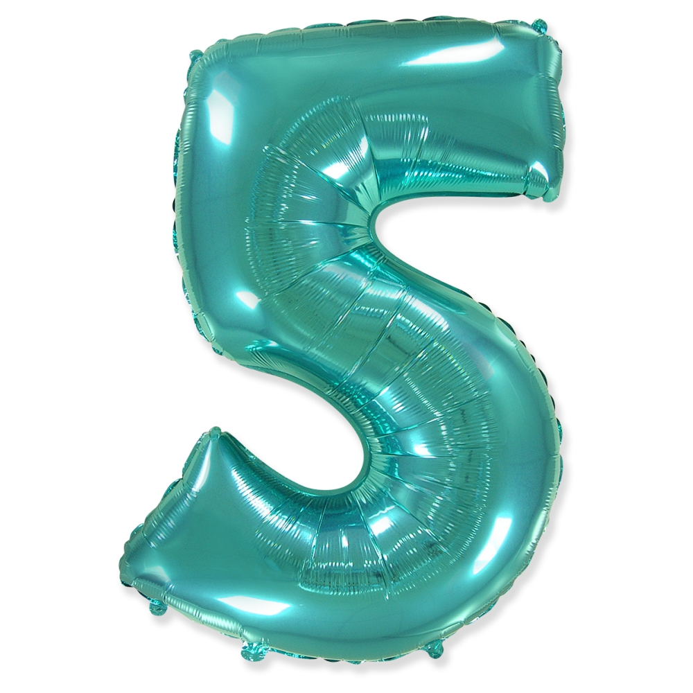 Цифра 5 Тиффани