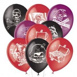 Облако из 15 шаров Пираты 30 см