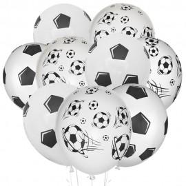 Облако из 15 шаров Футбол 30 см