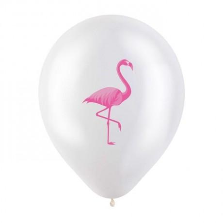 Облако из 9 шаров Фламинго 30 см