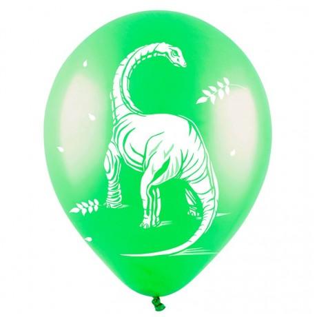 Облако из 9 шаров Динозавры 30 см