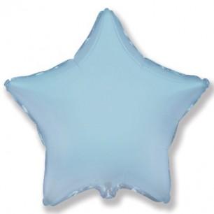 Звезда Светло-голубой 46 см