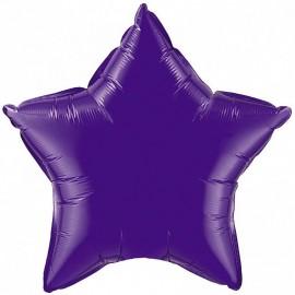 Шар Звезда Фиолетовый 46 см