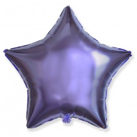 Шар Звезда Сиреневый 46 см