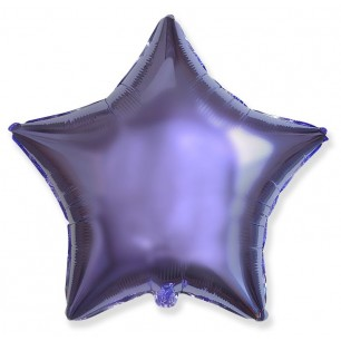 Звезда Сиреневый 46 см