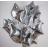 Звезда Серебро 46 см