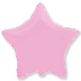 Шар Звезда Розовый 46 см