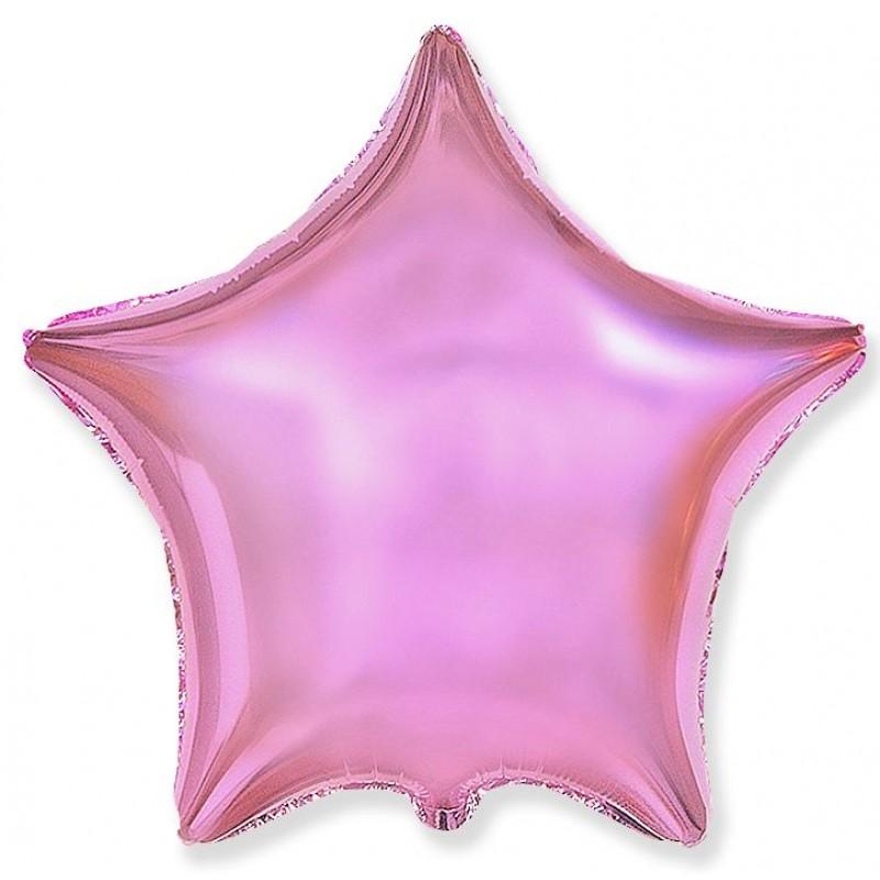 Звезда Розовый нежный 46 см