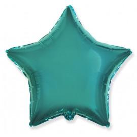 Шар Звезда Бирюзовый 46 см