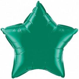 Шар Звезда Зеленый 46 см