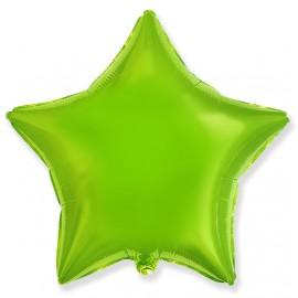 Шар Звезда Лайм 46 см